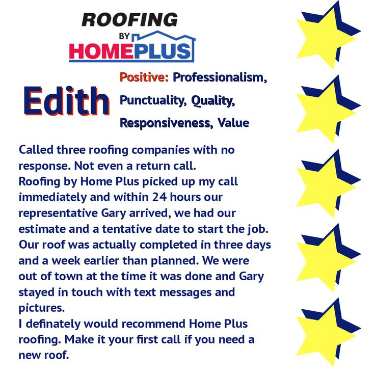 Thanks for the great review Edith!! Great job Gary!! Our