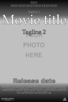 1000 ideas about movie poster template on pinterest