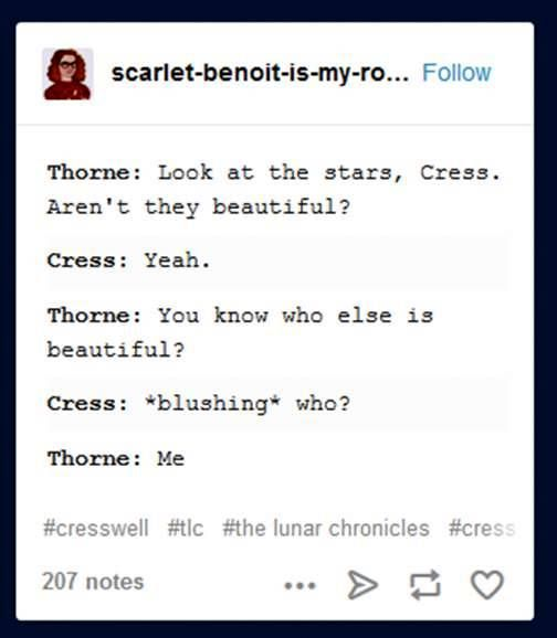 The Lunar Chronicles | text posts | I love these!!