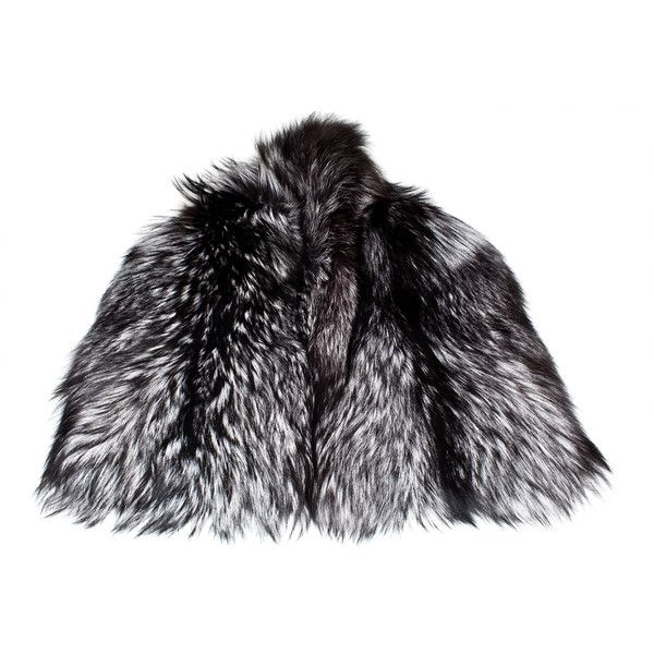 Stephen Mikhail Silver Fox Wrap (118.625 RUB) ❤ liked on Polyvore featuring accessories, scarves, fur, coats, jackets, women, fox shawl, wrap shawl, silver scarves and wrap scarves