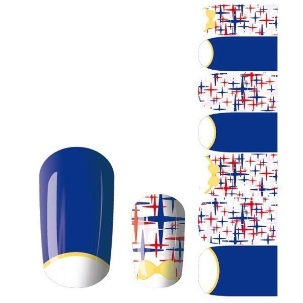 Wonderful 14Pcs Acrylic Nail Art Patch Polish Tips Decals Sticker JQ002