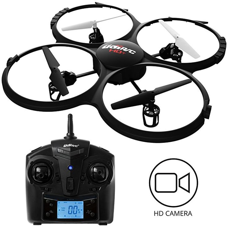 UDI Discovery HD Drone With Camera Bonus Battery Power Bank