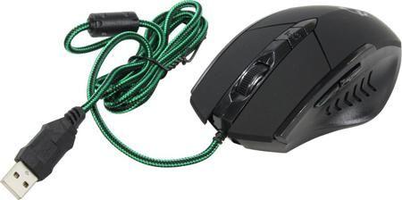 Oklick 815G (черный)  — 530 руб. —  Мышка Oklick 815G обеспечивает удобство управления в различных играх благодаря применению пяти кнопок и эргономичного корпуса, помогающего сохранить уверенный хват при резких движениях. Визуальные эффекты. Яркая подсветка помогает подчеркнуть индивидуальный стиль геймера и создать требуемое направление для игры.Универсальное применение. Устройство поддерживает изменение чувствительность оптического сенсора в пределах 800-2400 dpi. Благодаря этому оно может…