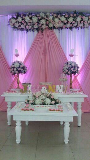 Mesa de dulces bailarina