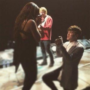 Jesy Nelson de Little Mix et Jake Roche de Rixton fiancés grâce à Ed Sheeran