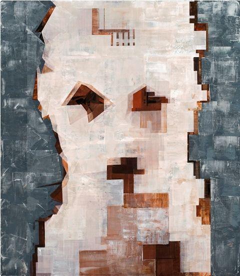 Erdinç Babat  | realize the truth  mixed technique on canvas | 150x130cm | artworks, erdincbabat, cepgallery,