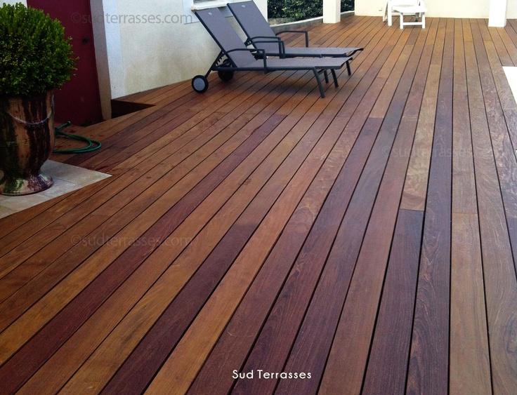 terrasse bois exotique lambourde pin. Black Bedroom Furniture Sets. Home Design Ideas