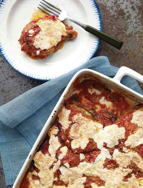 You could order in from the local Italian restaurant, or you defrost this delicious, lightened-up, h... - Martha Stewart