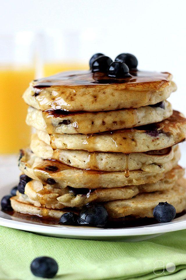 ... Blueberry Pancakes on Pinterest | Oat pancakes, Buttermilk pancakes