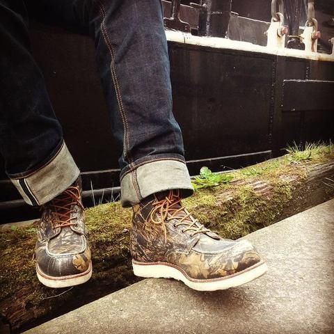 Red Wing Moc Toe | Camo 8884