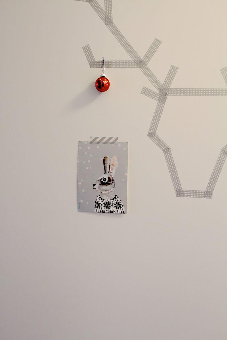 Herzenssachen christmas card holder