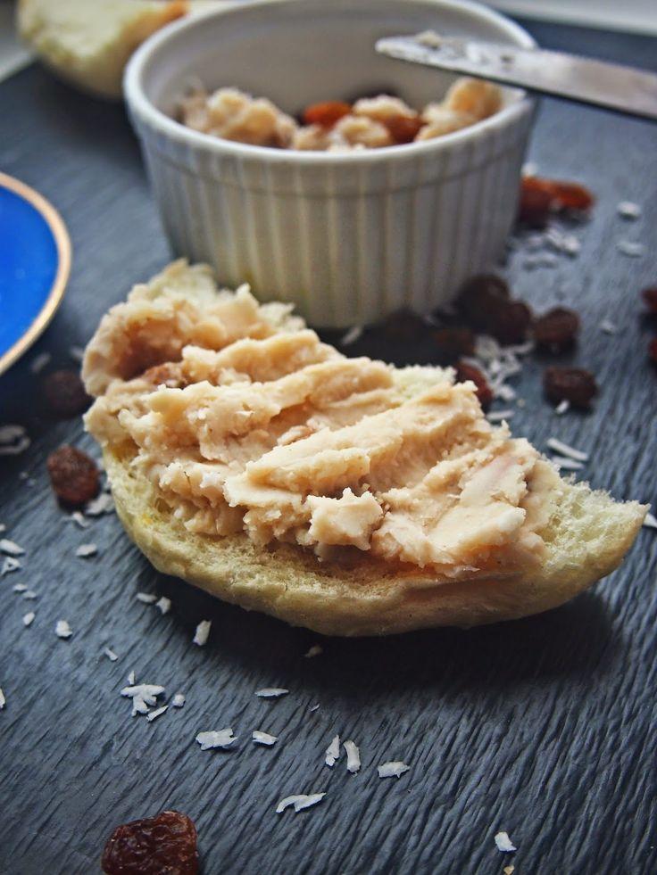 Vege Szamanka: Kokosowa pasta z białej fasoli