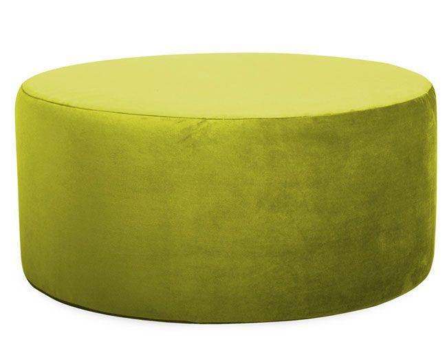 classy large round ottoman