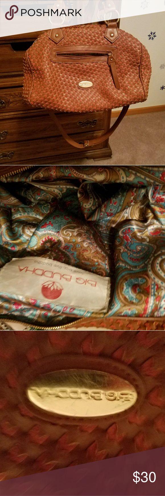 Big Buddha  purse Great BIG purse small tear in corner lining i stitched Big Buddha Bags Shoulder Bags