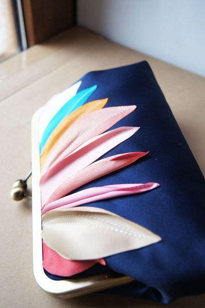 Colours of the year- handmade clutch.. from                               cuteandunique  by DaWanda.com