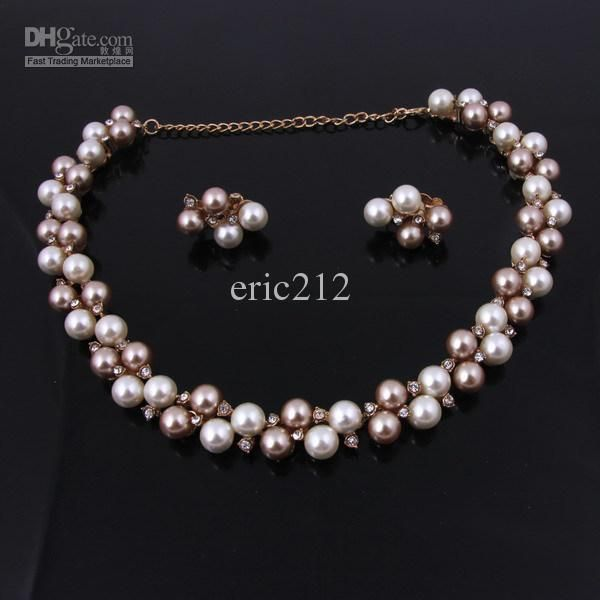 Wholesale Wedding Jewelry Sets - Buy New Arrival Hot Sale Pearl Jewelry Sets for Wedding,nice Pearl Jewelry Set For, $7.38 | DHgate