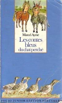 Livrenpoche.com : Achat de Les contes bleus du chat perché - acheter ce livre en occasion
