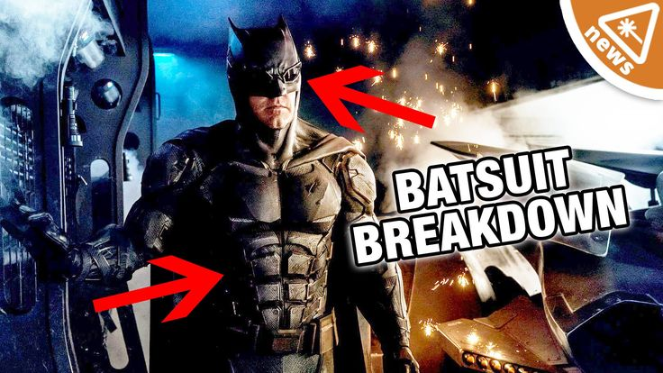 New Justice League Batman Tactical Suit Breakdown! (Nerdist News WTFrida...