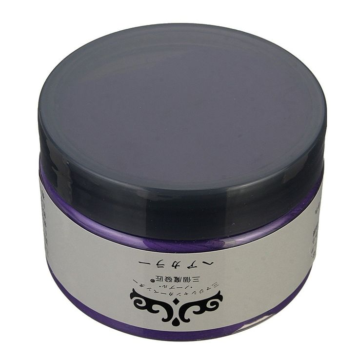 Unisex DIY Hair Color Wax Mud Disposable Temporary Modeling Dye Cream 6 Colors