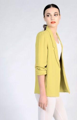 American Vintage silky blazer.  http://www.americanvintage-store.com/en/blazers-/2896-open-silky-blazer.html