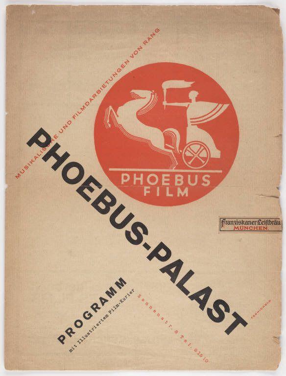 Jan Tschichold 1927 Swiss DesignCommunication DesignGraphic DesignersRetro