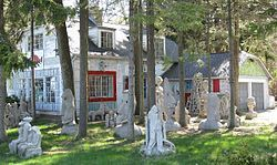 """The Mary Nohl """"Witch's House"""", Fox Point, WI (Milwaukee)"""