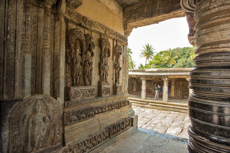 Belur in Karnataka, hosts one of the most beautiful hoysala temple in India