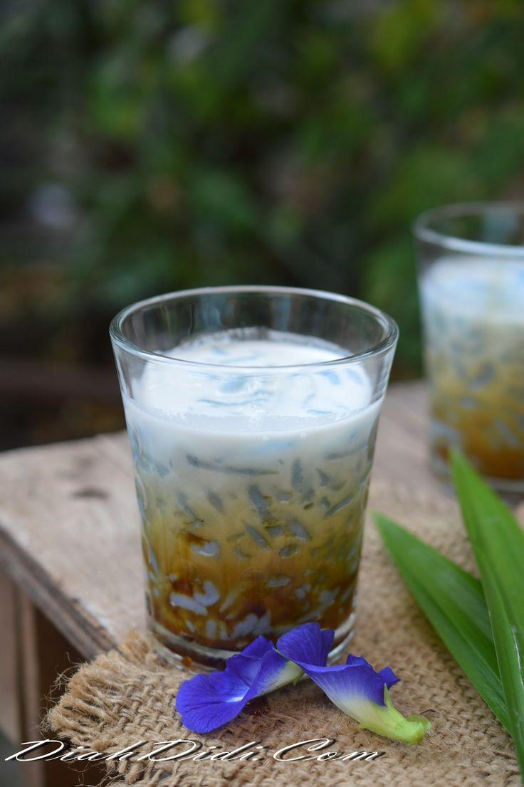 Diah Didi's Kitchen: Dawet Bunga Telang