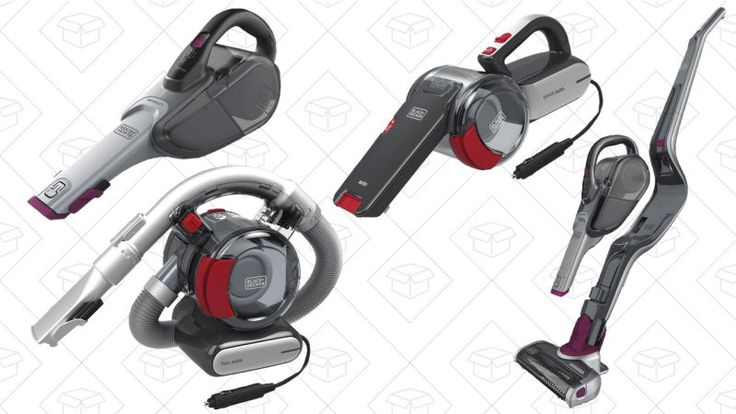 Suck Up the Savings With Amazon's One-Day Black & Decker Vacuum Sale