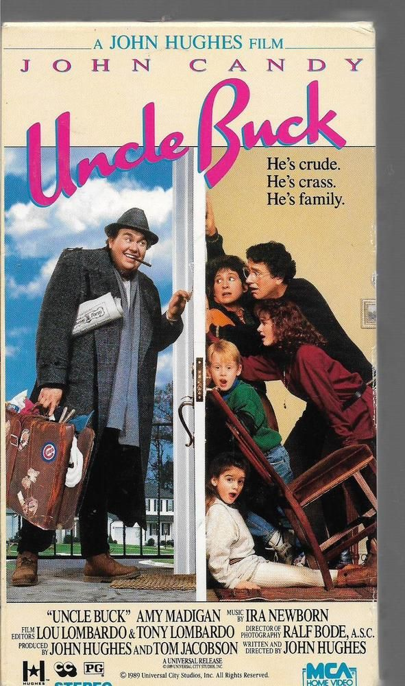 Vhs John Candy In Uncle Buck Hd Movies Classic Movies