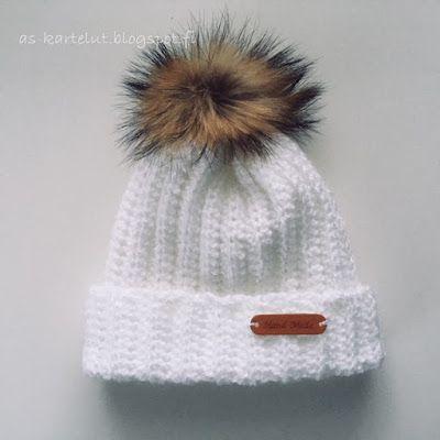 Virkattu pipo AS-kartelut: Virkkaa hittipipo #crochet #beanie