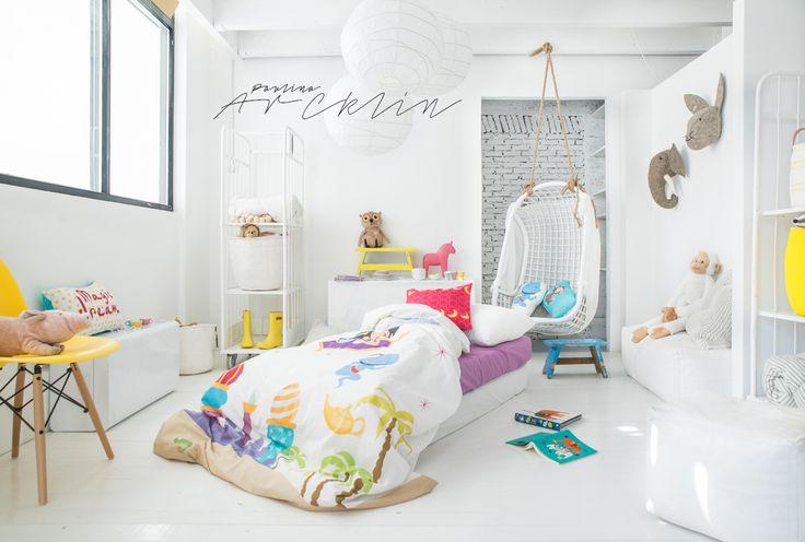 © Paulina Arcklin | MR FOX kids bedding textiles www.mrfox.es