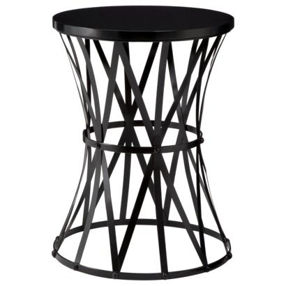 Metal side table accent tables and metals on pinterest