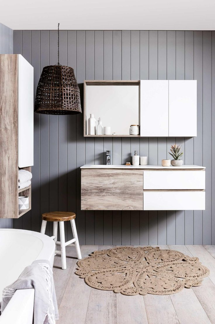 bathroom vanities that are practical and so pretty photography by maree homer - Sdb Chocolat Taupe