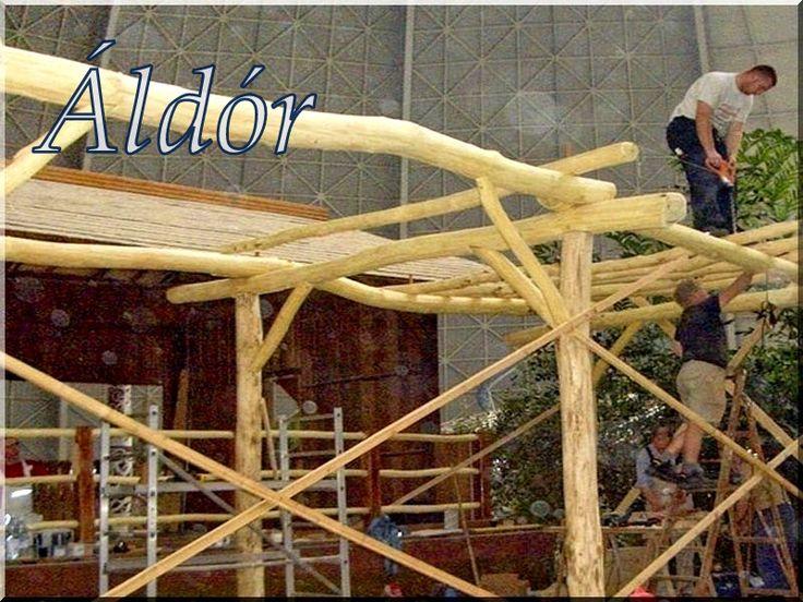 Pergola építése
