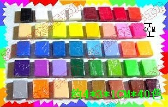 40 Colors Rainbow Polymer Clay/Fimo Clay/Clay Mud DIY Materials for Polymer Clay Crafts for Jewelry Decor Phone Decor 1set 480g on Etsy, $11.99