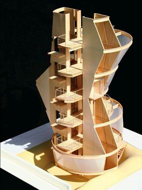 Building A   Scale Architectural Model