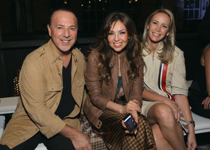 Tommy Mottola, Thalia, Dee Hilfiger