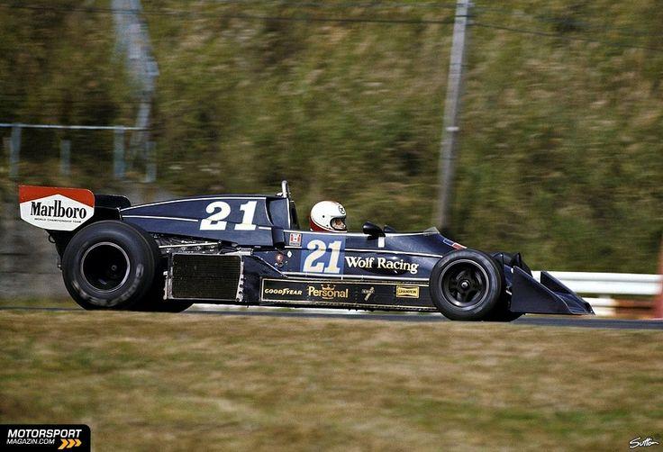 Hans Binder GP Japon 1976 Williams-Wolf