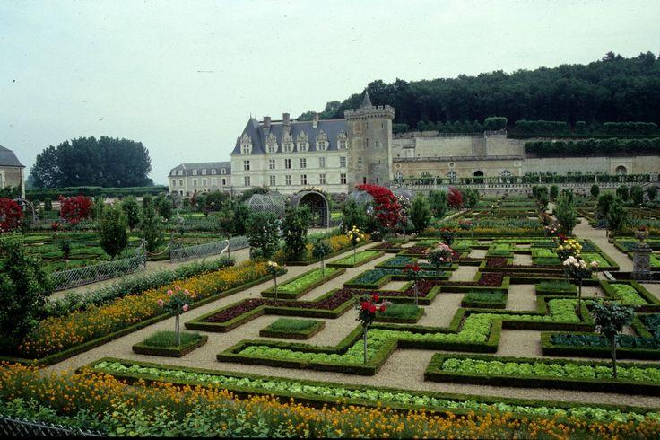 Francia, i Castelli della Loira: i giardini del Castello di Villandry
