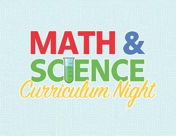 Curriculum Night is here!