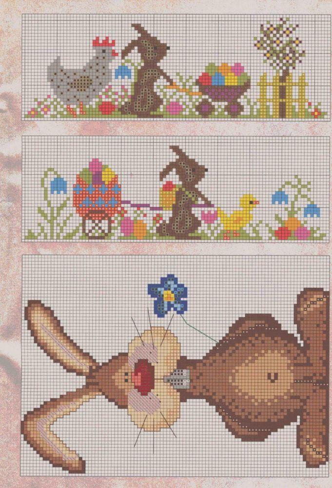 Point de croix Pâques*m@* Cross stitch