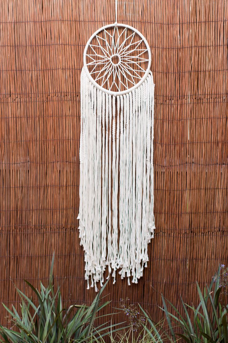 Macrame Dreamcatcher Homewares by Treeoflife | Boho ...
