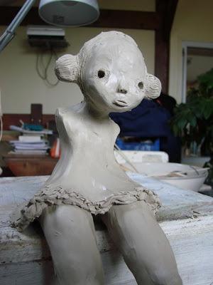 aline ivars: Sculptures en argile