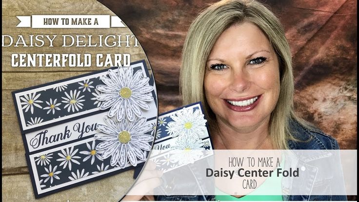 """Free pdf and card details: http://stampwithtami.com/blog/2017/06/daisy-delight/  Facebook Live: https://www.facebook.com/stampwithtami1/ I'm so excited that the Stampin Up Daisy Delight Bundle and punch are back in stock and available in my online store. Due to their extreme popularity (and awesomeness) they flew off the shelves the second the new catalog was released and haven't been available again until now.  In honor of it's return, I am going to create this gorgeous """"centerfold"""" fun…"""