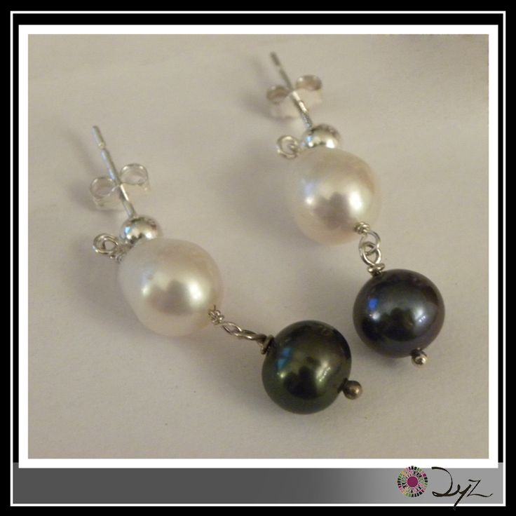 Porque sabemos que te gustan las perlas. Mira este precioso aro de plata con perla de río.