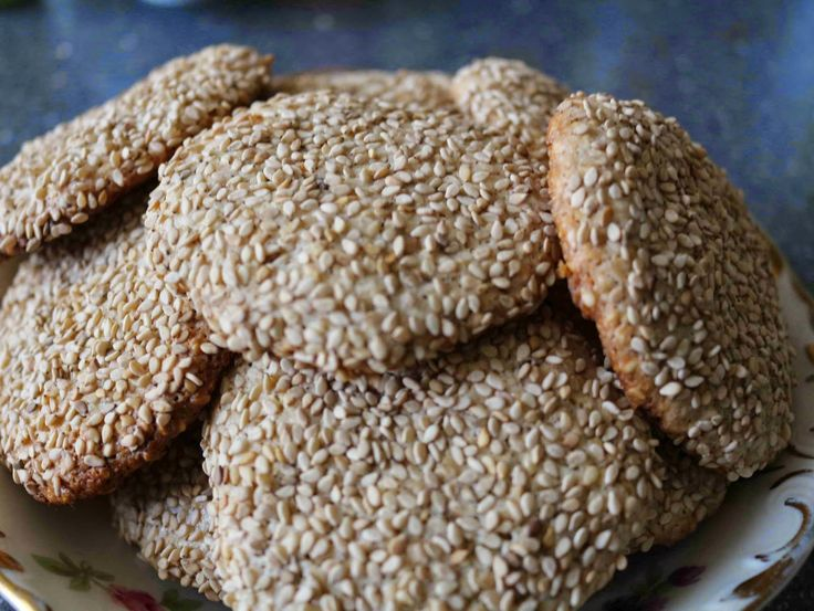 Английская гостиная: Простой рецепт: Кунжутное печенье
