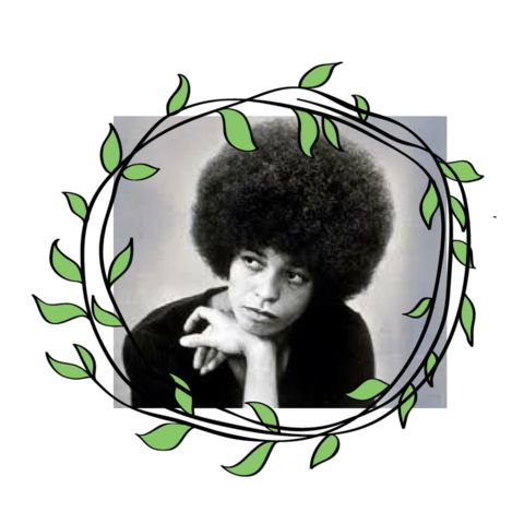 Angela Davis, civil rights activist, was one of many figures in the Black Power movement to sport a large Afro (1960s and 1970s) Source. Davis was involved with both the Black Panthers and Che-Lumumba Club, and today she is a professor at the University of California, Santa Cruz. Souce.