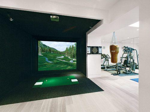 Best 10 golf man cave ideas on pinterest golf tyler Golf decor for home