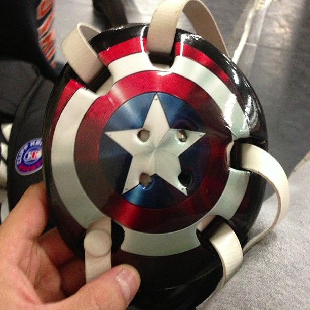 Captain America Wrestling Headgear
